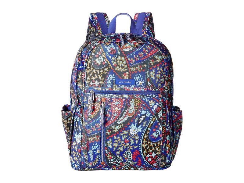 ベラブラッドリー レディース バックパック・リュックサック バッグ Lighten Up Grand Backpack Petite Paisley