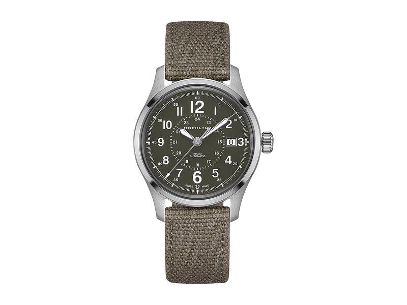 ハミルトン メンズ 腕時計 アクセサリー Khaki Field Auto 40mm - H70595963 Green
