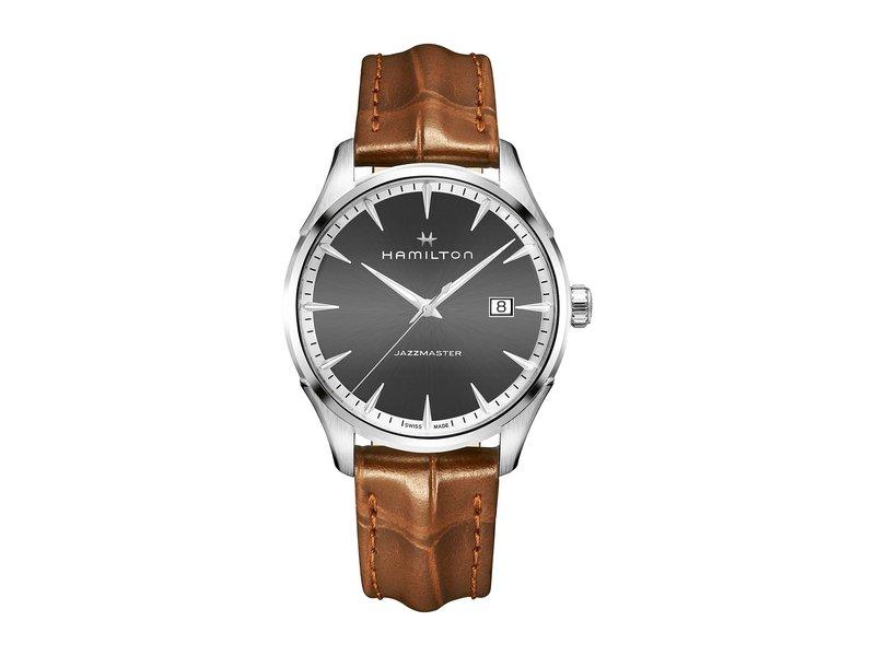 ハミルトン メンズ 腕時計 アクセサリー Jazzmaster Gent - H32451581 Gray