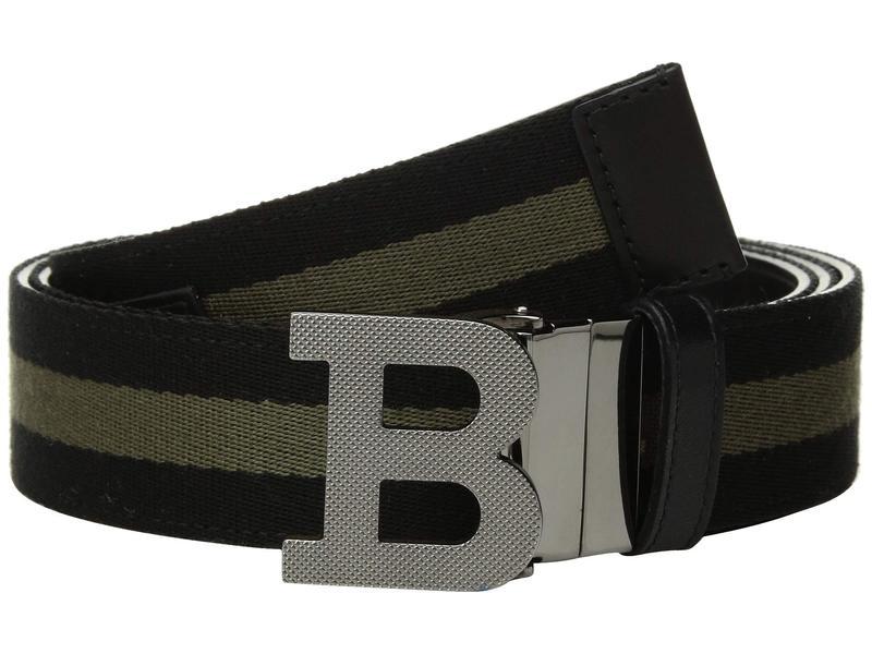 バリー メンズ ベルト アクセサリー B Buckle Fixed/Reversible Belt Black/Fango