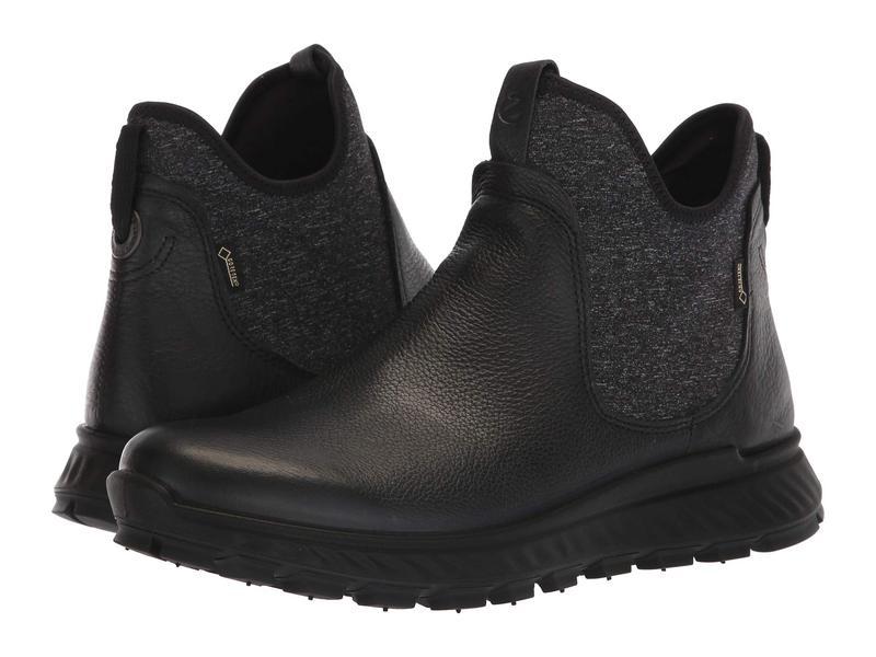 エコー レディース ブーツ・レインブーツ シューズ Exostrike GORE-TEX Boot Black