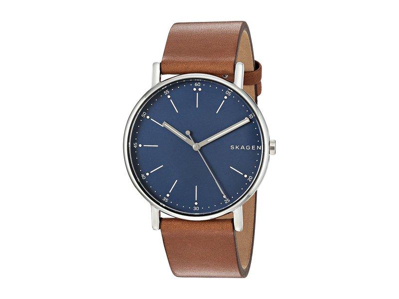 スカーゲン メンズ 腕時計 アクセサリー Signatur - SKW6355 Brown