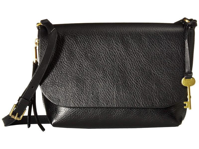 フォッシル レディース ハンドバッグ バッグ Small Maya Small ハンドバッグ Flap Crossbody バッグ Black, Luxury Brand ミドリヤ:f47098db --- sunward.msk.ru