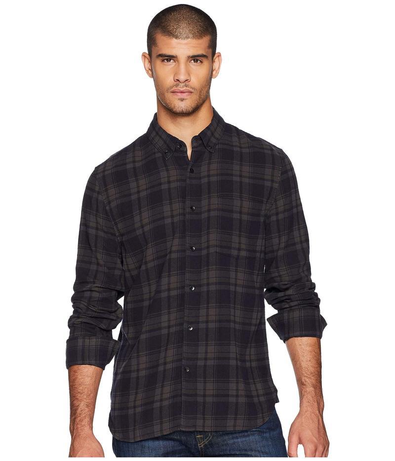 ジョーズジーンズ メンズ シャツ トップス Picciano Long Sleeve Overdyed Woven Blue/Grey Plaid