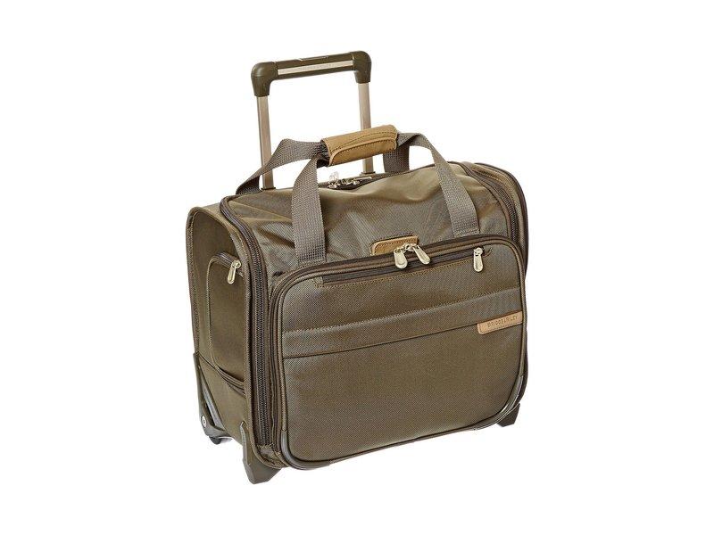 ブリグスアンドライリー メンズ ボストンバッグ バッグ Baseline Rolling Cabin Bag Olive