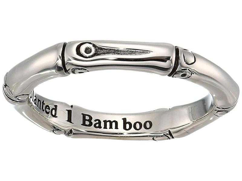 ジョン・ハーディー レディース リング アクセサリー Bamboo Slim Ring Silver
