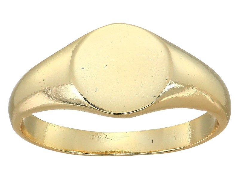 シャシ レディース リング アクセサリー Signet Ring Gold
