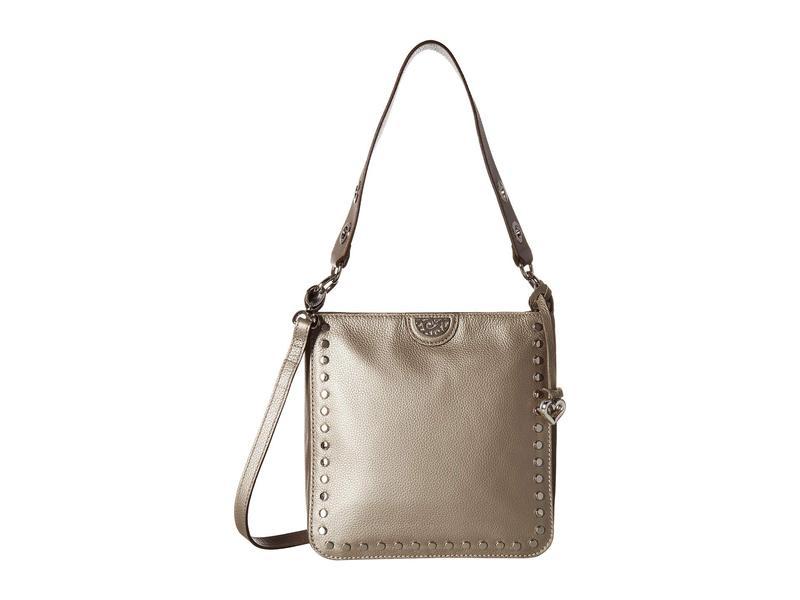 ブライトン レディース ハンドバッグ バッグ Raine Convertible Shoulder Bag Zinc Pearl