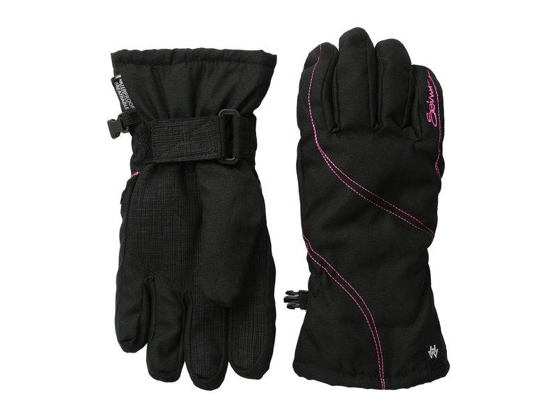 セイラス レディース 手袋 アクセサリー Msbehave Glove Black/Hot Pink