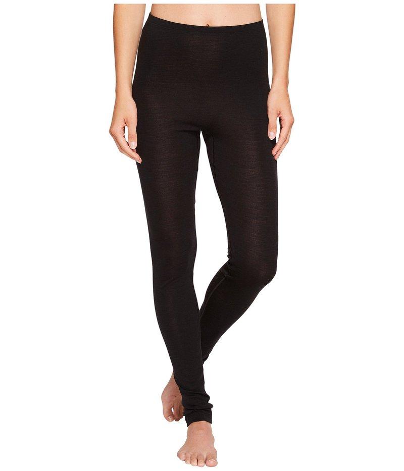 ハンロ レディース カジュアルパンツ ボトムス Woolen Silk Pant 1422 Black