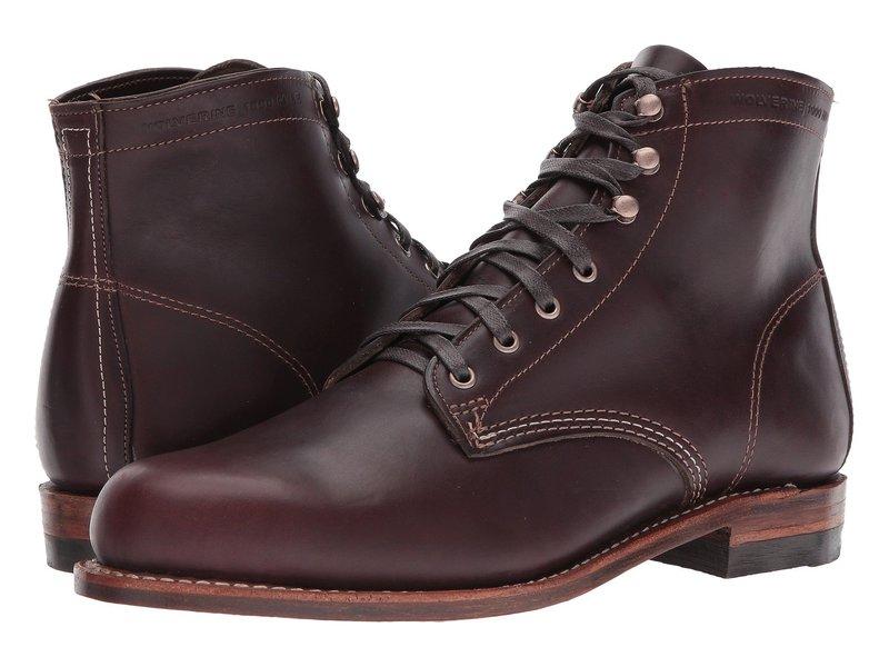 ウルヴァリン メンズ ブーツ・レインブーツ シューズ Original 1000 Mile 6 Boot Cordovan No. 8 Leather
