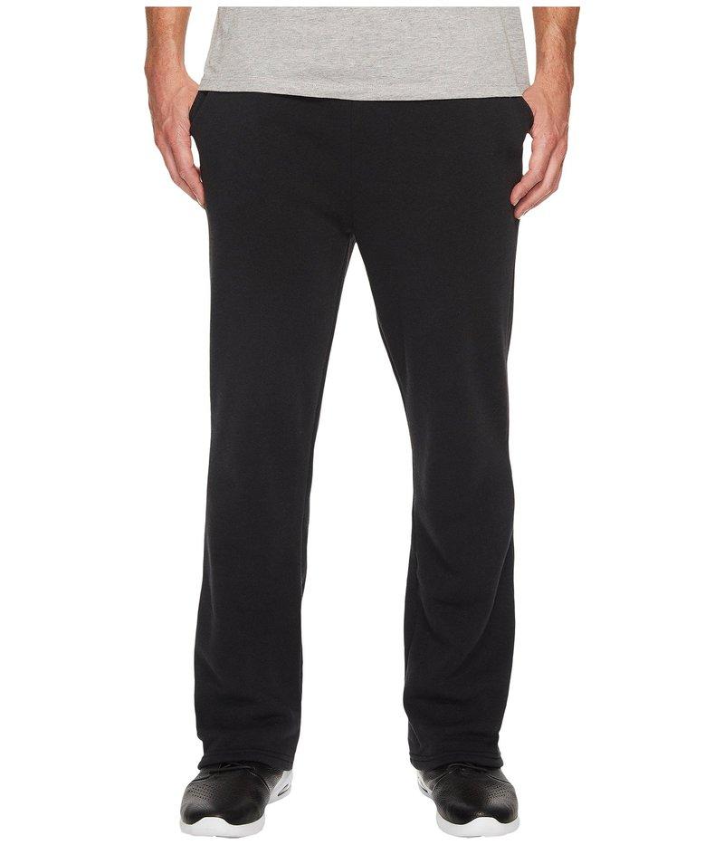 オルタナティヴ メンズ カジュアルパンツ ボトムス Eco Fleece The Hustle Open Bottom Sweatpants Eco True Black