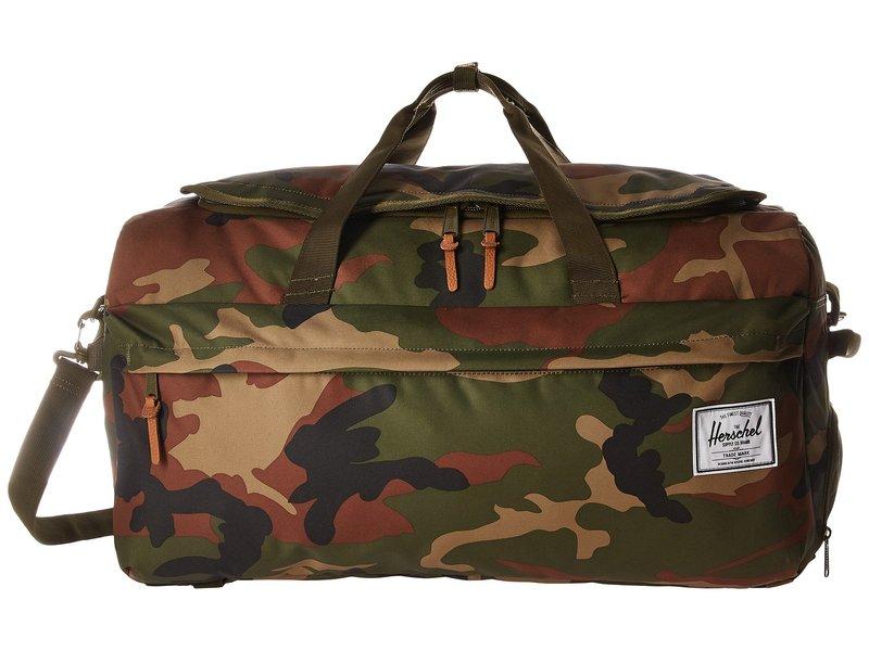 ハーシェルサプライ メンズ ボストンバッグ バッグ Outfitter Woodland Camo 2