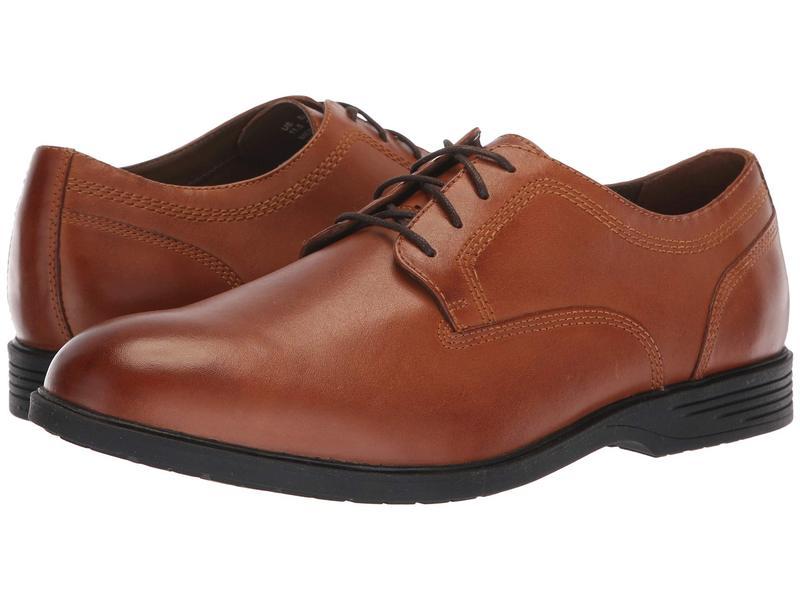 ハッシュパピー メンズ オックスフォード シューズ Shepsky PT Oxford Dark Tan Leather