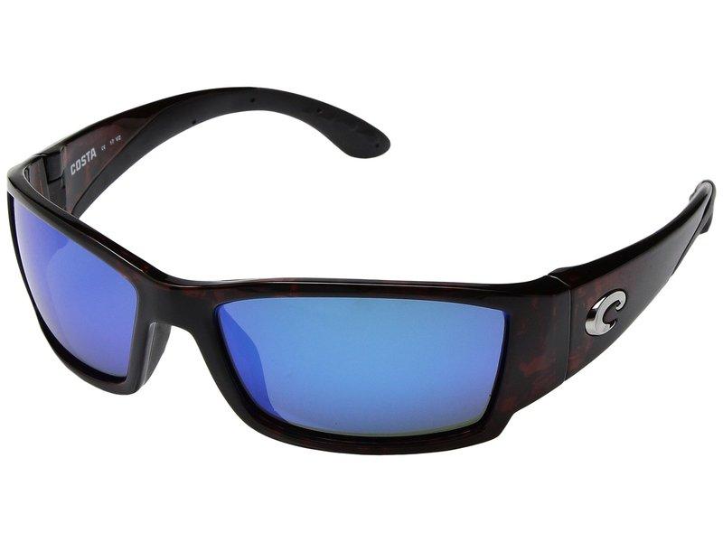 コスタ メンズ サングラス・アイウェア アクセサリー Corbina Tortoise Frame/Blue Mirror Glass W580