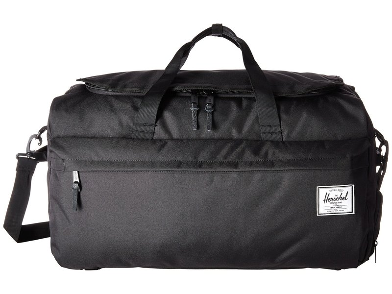 ハーシェルサプライ メンズ ボストンバッグ バッグ Outfitter Black 1