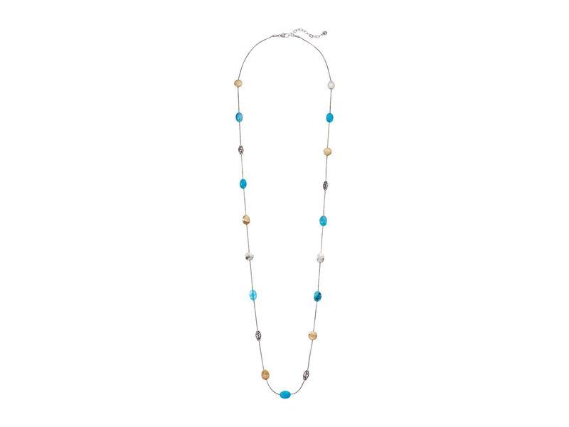 ブライトン レディース ネックレス・チョーカー・ペンダントトップ アクセサリー Mediterranean Long Necklace Turquoise