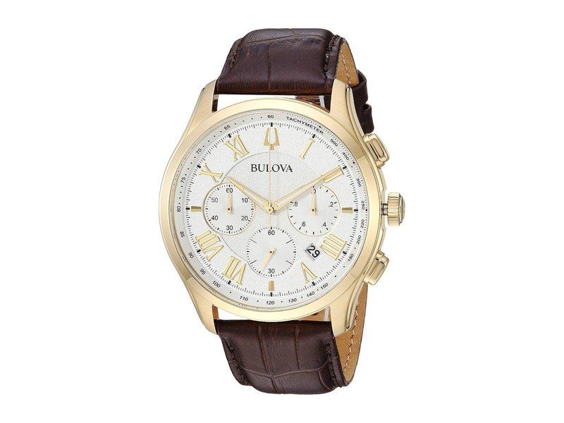 ブロバ メンズ 腕時計 アクセサリー Wilton - 97B169 Brown