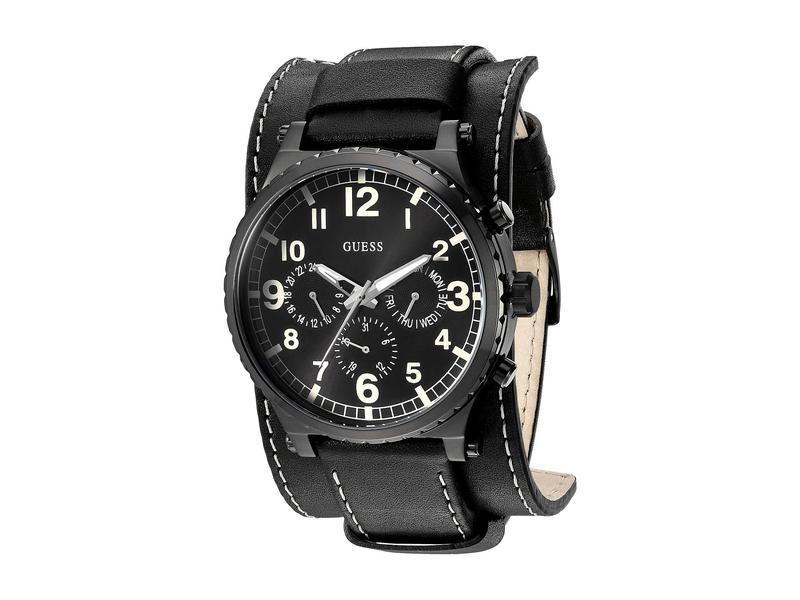 ゲス メンズ 腕時計 アクセサリー U1162G2 Black