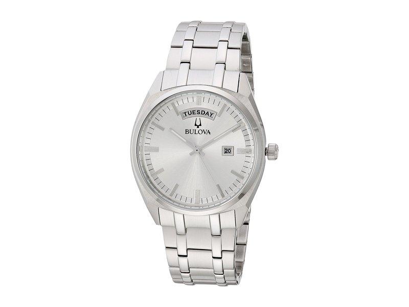 ブロバ メンズ 腕時計 アクセサリー Classic - 96C127 Silver