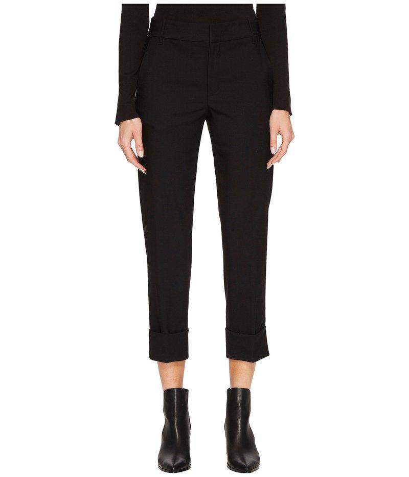 ヴィンス レディース カジュアルパンツ ボトムス Cuffed Coin Pocket Trousers Black