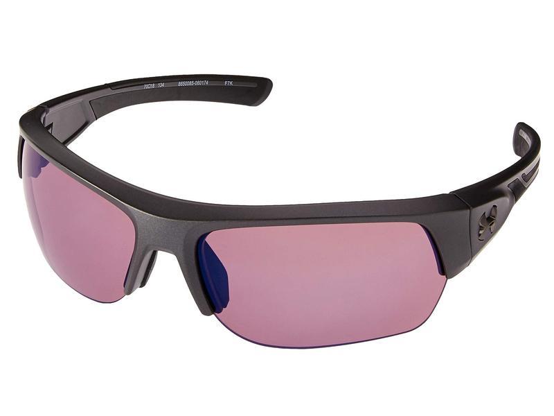 アンダーアーマー メンズ サングラス・アイウェア アクセサリー UA Big Shot Satin Carbon/Black/Golf