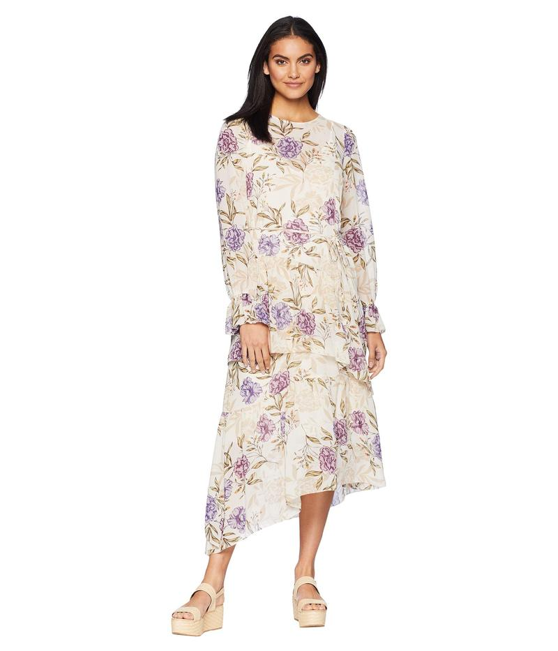 アストール レディース ワンピース トップス Mona Dress Cream/Lilac Floral