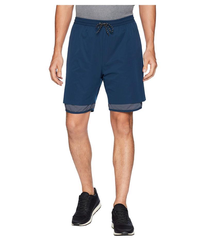 スノーピーク メンズ ハーフパンツ・ショーツ ボトムス Super Dry 2L Shorts Navy
