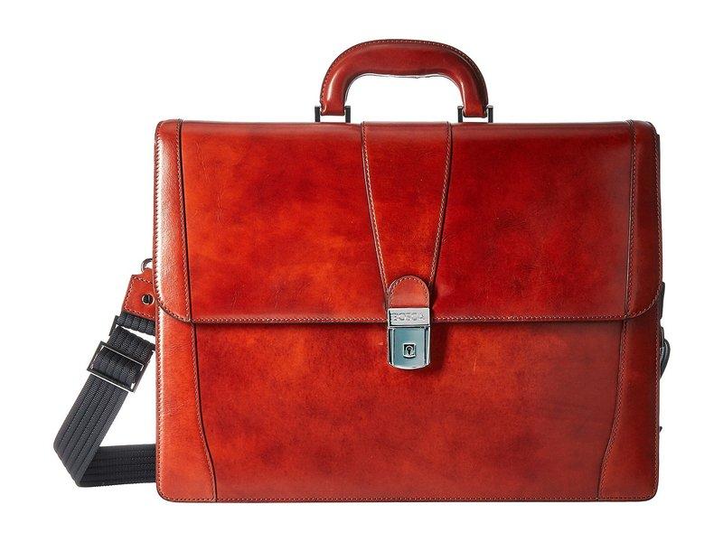 ボスカ メンズ ビジネス系 バッグ Old Leather Collection - Double Gusset Briefcase Cognac Leather