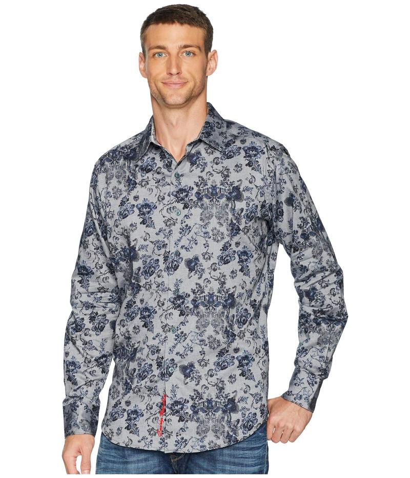 ロバートグラハム メンズ シャツ トップス Barker Shirt Blue