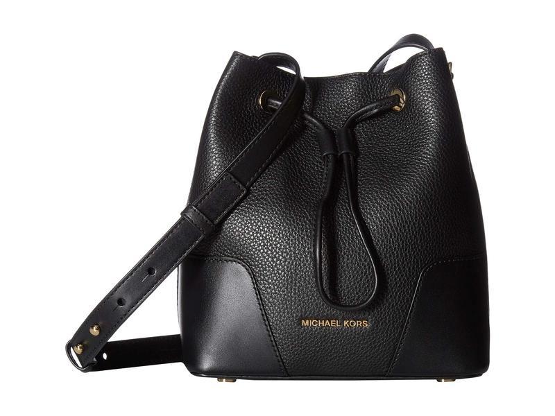 マイケルコース レディース ハンドバッグ バッグ Cary Small Bucket Bag Black