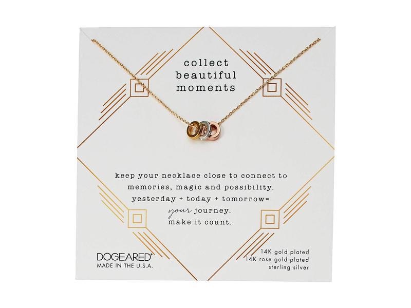 ドジャード レディース ネックレス・チョーカー・ペンダントトップ アクセサリー Collect Beautiful Moments, Trio Of Rondelle Beads Necklace Mixed