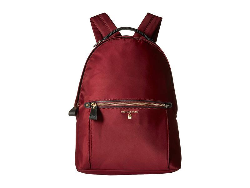 マイケルコース レディース バックパック・リュックサック バッグ Nylon Kelsey Large Backpack Plum