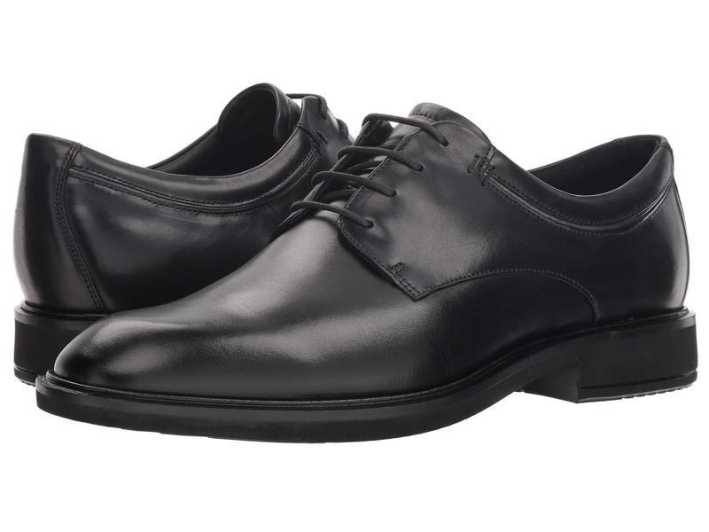 エコー メンズ オックスフォード シューズ Vitrus II Plain Toe Tie Black