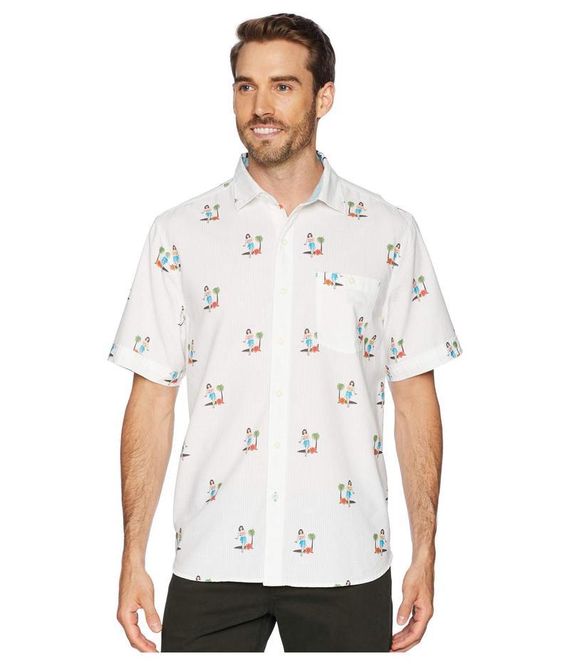 トッミーバハマ メンズ シャツ トップス Hula Oasis Shirt White