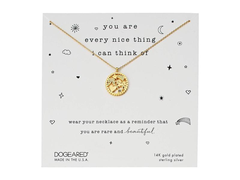 ドジャード レディース ネックレス・チョーカー・ペンダントトップ アクセサリー You Are Every Nice Thing, Magical Multi-Icon Pendant Necklace Gold