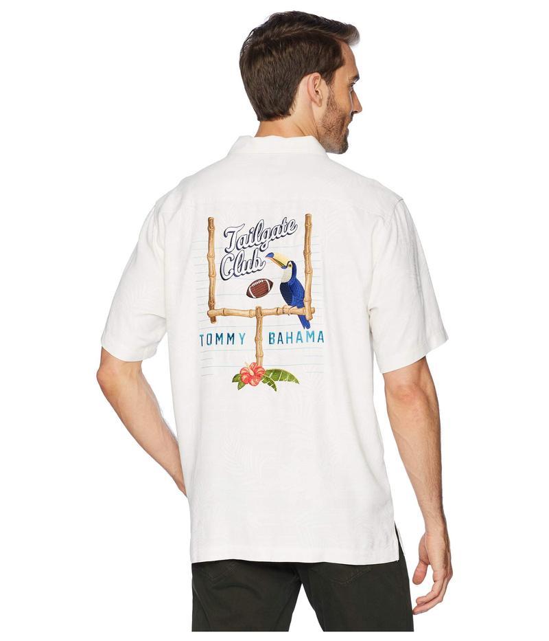 トッミーバハマ メンズ シャツ トップス Tailgate Club Embroidered Shirt Continental