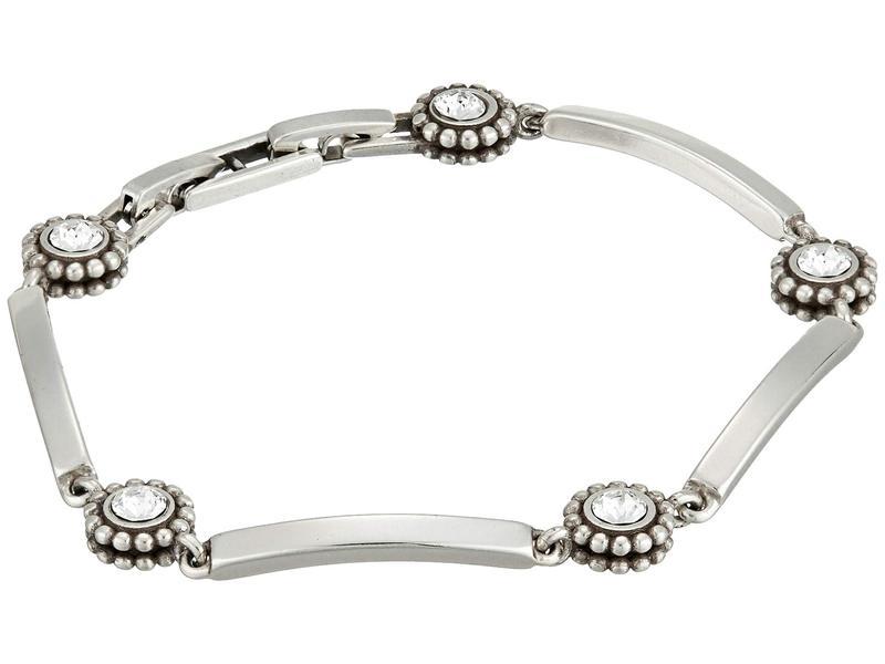 ブライトン レディース ブレスレット・バングル・アンクレット アクセサリー Twinkle Bar Link Bracelet Silver