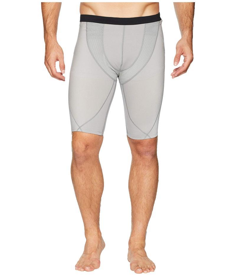 CW-X メンズ ハーフパンツ・ショーツ ボトムス Stabilyx Mesh Under Shorts Light Grey