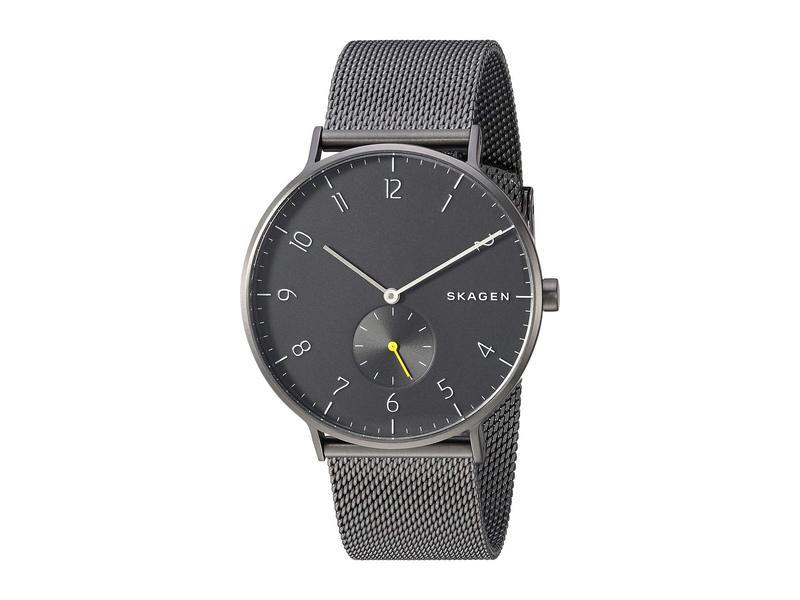 スカーゲン メンズ 腕時計 アクセサリー Aaren - SKW6470 Gunmetal