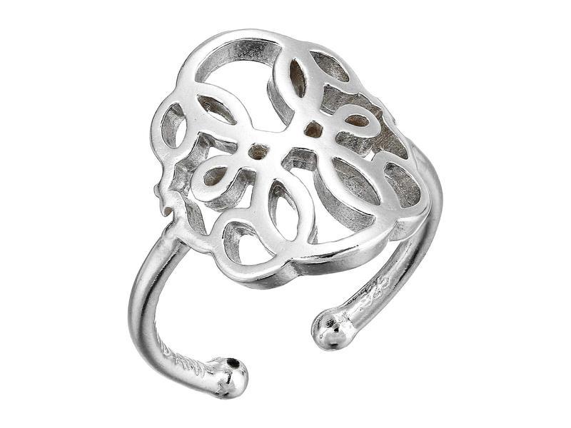 アレックスアンドアニ レディース リング アクセサリー Path of Life Statement Adjustable Ring - Precious Metal Sterling Silver