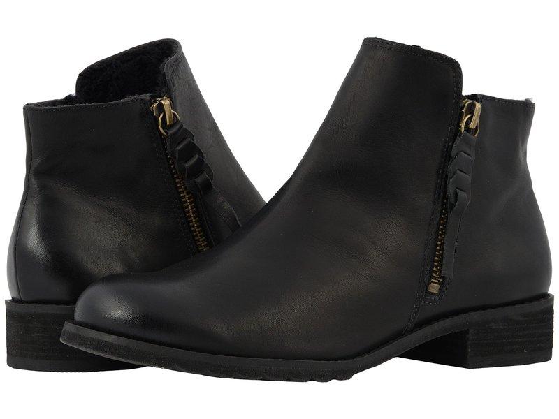 ウォーキング クレイドル レディース ブーツ・レインブーツ シューズ Kason Black Rustic Leather
