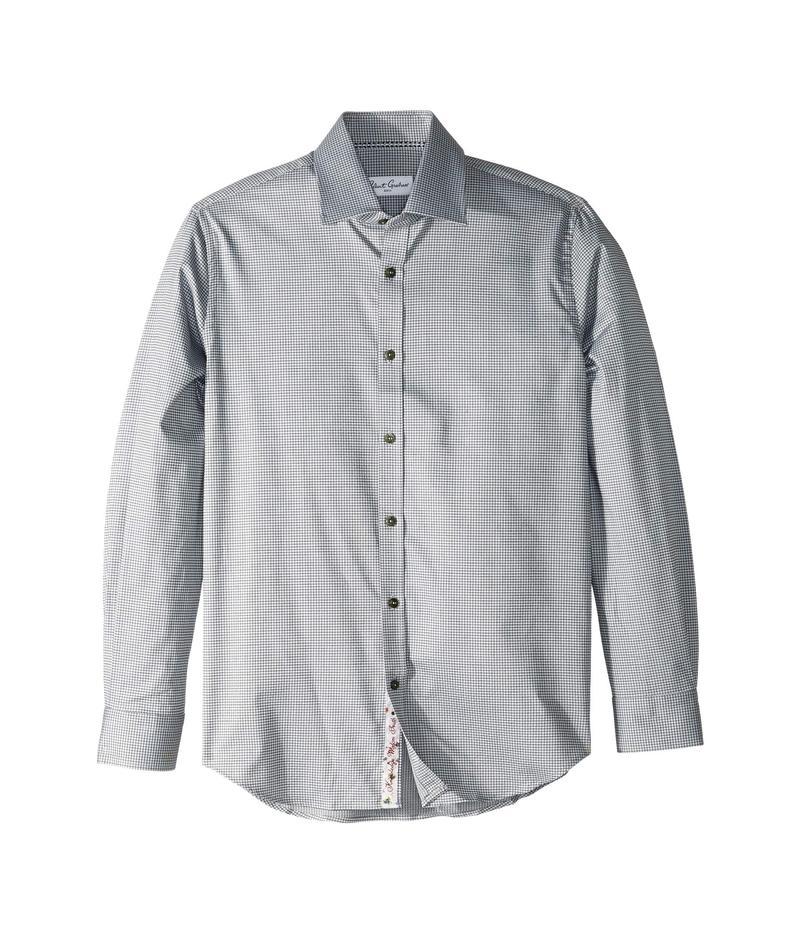 ロバートグラハム メンズ シャツ トップス Nicky - Check Dress Shirt Grey