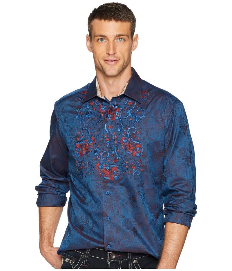 ロバートグラハム メンズ シャツ トップス Imprint Shirt Navy