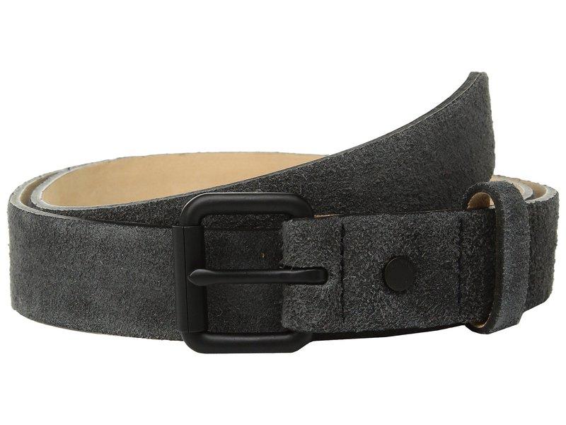 ラグアンドボーン メンズ ベルト アクセサリー Roller Buckle Belt Charcoal