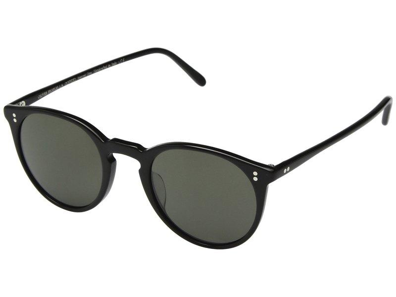 オリバーピープルズ メンズ サングラス・アイウェア アクセサリー O'Malley Sun Black/G15 Polar