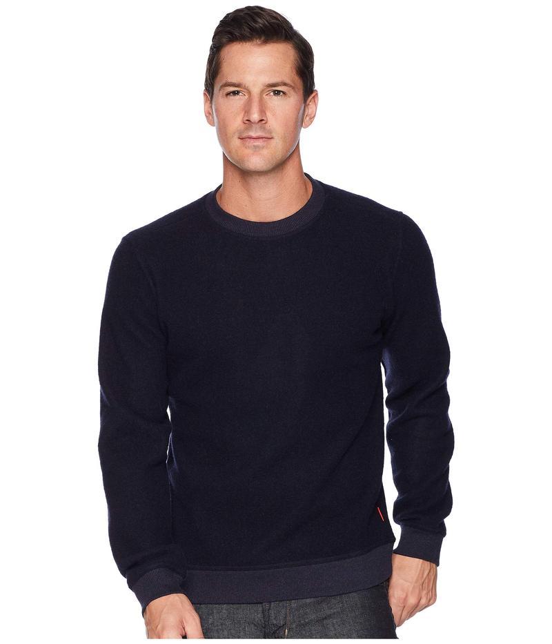 トポ・デザイン メンズ ニット・セーター アウター Global Sweater Navy