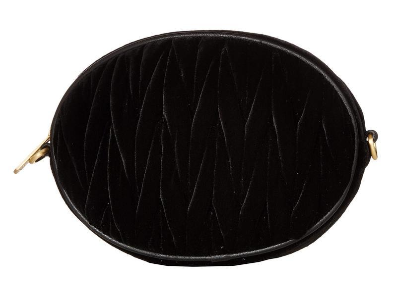 サムエデルマン レディース ハンドバッグ バッグ Yanet Convertible Belt Bag/Crossbody Black Velvet
