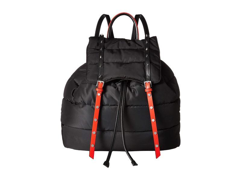 サムエデルマン レディース バックパック・リュックサック バッグ Branwen Nylon Backpack Black/Red Nylon