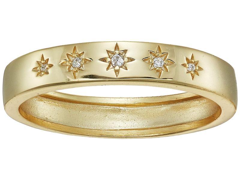 シャシ レディース リング アクセサリー Twinkle Ring Yellow Gold